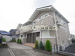 神奈川県厚木市及川2の賃貸アパートの外観