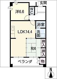 花井ビル[3階]の間取り