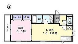 東京都世田谷区桜上水3丁目の賃貸マンションの間取り
