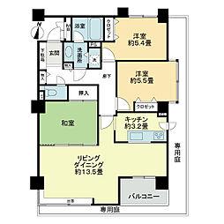 ライオンズマンション裏参道第2[1階]の間取り