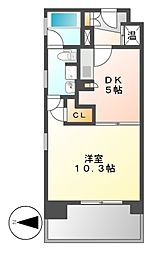 KDXレジデンス東桜2[9階]の間取り