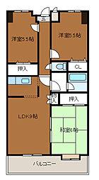 第3SKビル[8階]の間取り