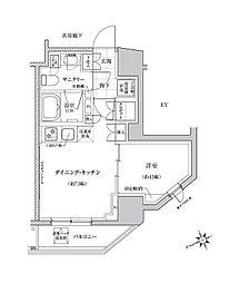 クレヴィアリグゼ三軒茶屋[3階]の間取り