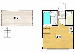 ベイヒルズ西横浜[2階]の間取り