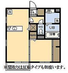 (新築)D-room中村東[103号室]の間取り