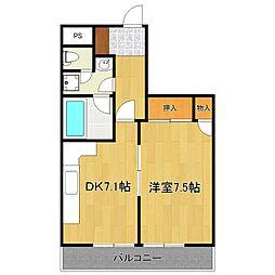 興和第二ビル[301号室]の間取り