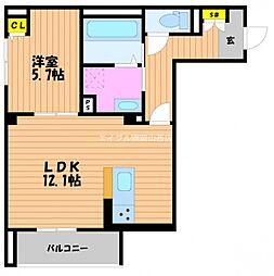 (仮)‐room野田[3階]の間取り