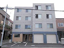 北海道札幌市白石区本通12丁目南の賃貸マンションの外観
