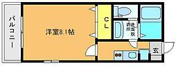 スクレーパー東[302号室]の間取り