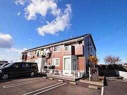 岐阜県美濃加茂市西町1丁目の賃貸アパートの外観