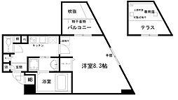 べラジオ京都烏丸十条[3階]の間取り
