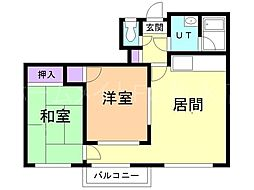 メゾンポラーレ[2階]の間取り