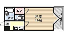 プランドール勧修寺[201号室号室]の間取り