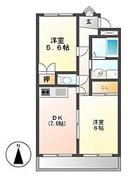 メゾンTA[3階]の間取り