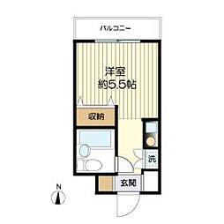ルーラル三田[305号室]の間取り