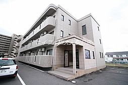 岡山県岡山市南区豊成3丁目の賃貸マンションの外観