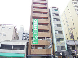 大阪府大阪市中央区上町の賃貸マンションの外観
