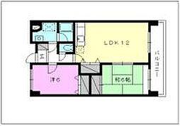 第八中村ビル[702 号室号室]の間取り