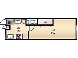 同和ビル[2階]の間取り