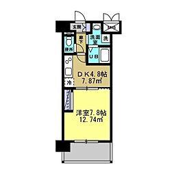 MANAKA BLD[502号室]の間取り