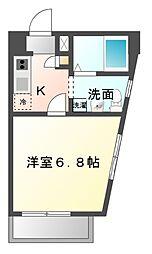 ルーム335[3階]の間取り