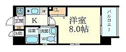 ラナップスクエア福島II[11階]の間取り