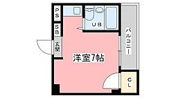 第8長栄ヴィライースト[203号室]の間取り