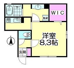 桜(SAKURA)[302号室]の間取り