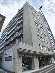 北海道札幌市中央区北一条西18丁目の賃貸マンションの外観