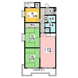 水野マンション[3階]の間取り