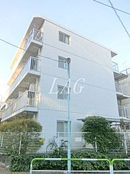 東京都文京区本駒込5丁目の賃貸マンションの外観