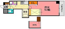 広島県広島市南区段原南1丁目の賃貸マンションの間取り