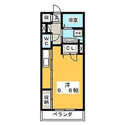 仮)シャーメゾン大橋通[2階]の間取り