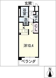 GRAN DUKEII[3階]の間取り
