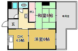 NKシャトー[1階]の間取り