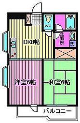 JS−2ビル[3階]の間取り