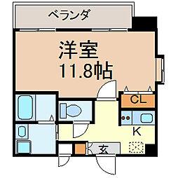 クレシェール大須[9階]の間取り