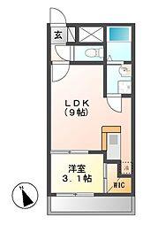 FAMILY STAGE矢田(ファミリーステージヤダ)[2階]の間取り