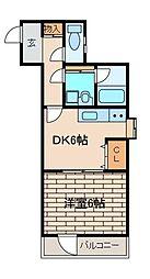 トータスハウス[3階]の間取り