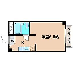 静岡県静岡市清水区追分3丁目の賃貸マンションの間取り