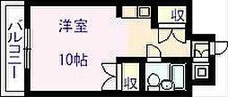 ライオンズマンション今里第3[9階]の間取り