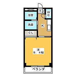 エマーブル弐番館[2階]の間取り