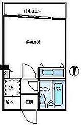 東京都港区西麻布4丁目の賃貸マンションの間取り