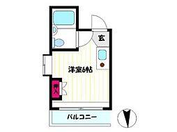 ソリッドリファイン武蔵新城[2階]の間取り