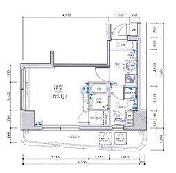 レグラス横浜西口[7階]の間取り