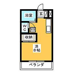 マスキャン長良[2階]の間取り