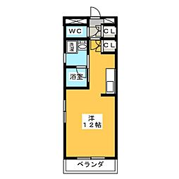 サンアイハイツ[2階]の間取り