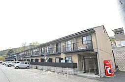 広島県広島市安芸区中野6丁目の賃貸アパートの外観