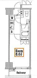レアライズ浅草II[7階]の間取り