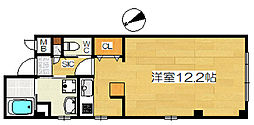 マメゾンサンライズ浜寺[1階]の間取り